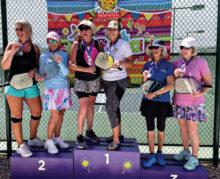Gold: Teri Baer and Kristi Miller Silver: Ronda Hayes and Angela Jerman-Hendryx Bronze: Marlene Hardison and Debbie McCauley